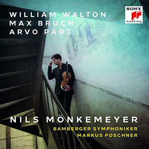CD William Walton Max Bruch Arvo Pärt - Nils Mönkemeyer