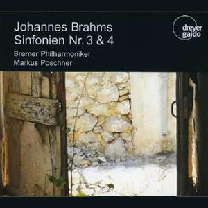 CD Johannes Brahms Sinfonien Nr. 3 & 4