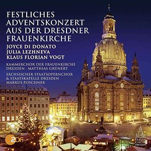 CD Festliches Adventskonzert aus der Dresdner Frauenkirche