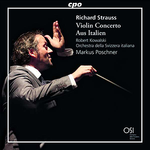 CD Richard Strauss Violin Concerto Aus Italien