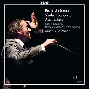 CD Richard Strauss Violin Concerto Aus Italien