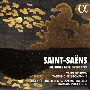 CD Saint-Saens Melodies avec Orchestre