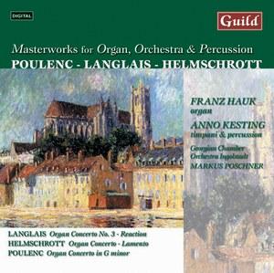 CD Poulenc Langlais Helmschrott