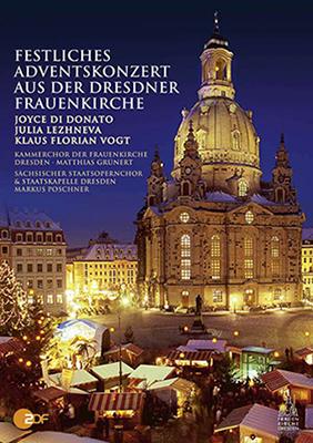 DVD Festliches Adventskonzert aus der Dresdner Frauenkirche