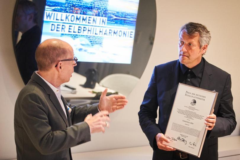 Preisverleihung an Markus Poschner