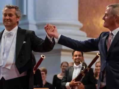 Markus Poschner und Wolfgang Mayrhofer